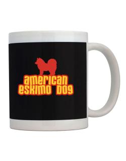 Breed Color American Eskimo Dog Mug
