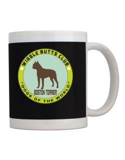 Boston Terrier - Wiggle Butts Club Mug