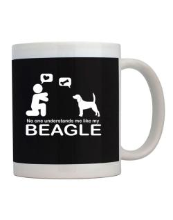 No One Understands Me Like My Beagle Mug
