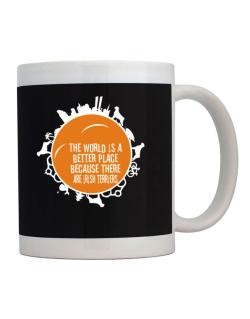 Better Place Irish Terriers Mug