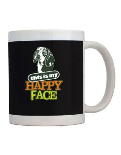 Happy Face Beagle Mug