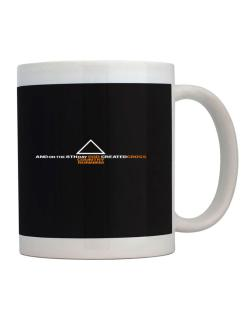 God Cross Country Running Mug