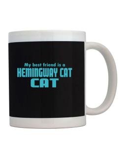 My Best Friend Is A Hemingway Cat Mug