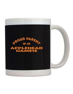 Proud Parent Of An Applehead Siamese Mug