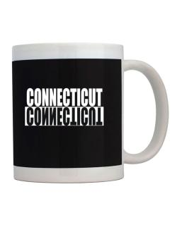 Connecticut Negative Mug