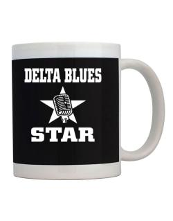 Delta Blues Star - Microphone Mug