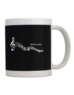 Freestyle Music - Notes Mug