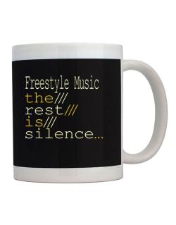Freestyle Music The Rest Is Silence... Mug