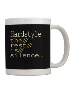 Hardstyle The Rest Is Silence... Mug