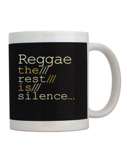 Taza de Reggae The Rest Is Silence...