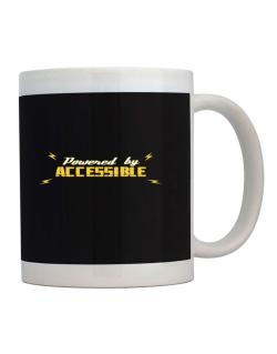Powered By Accessible Mug