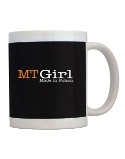 Girl Made In Polson Mug