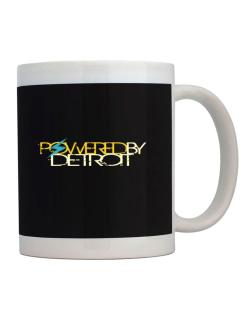 Powered By Detroit Mug