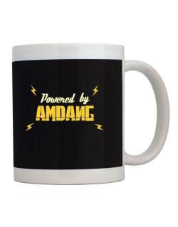 Powered By Amdang Mug