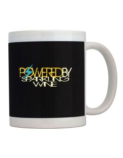 Powered By Sparkling Wine Mug