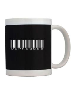 Depressed Barcode Mug