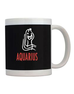 Aquarius - Cartoon Mug