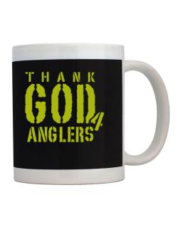 Thank God For Anglers Mug