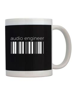 Audio Engineer barcode Mug