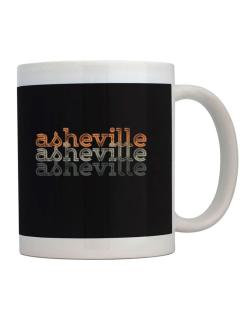 Asheville repeat retro Mug