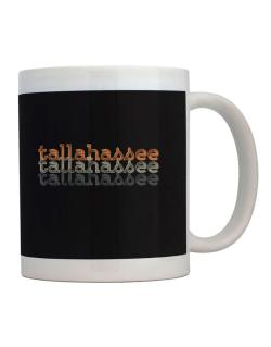 Tallahassee repeat retro Mug