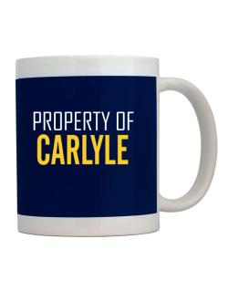 Property Of Carlyle Mug