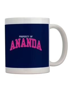 Property Of Ananda Mug