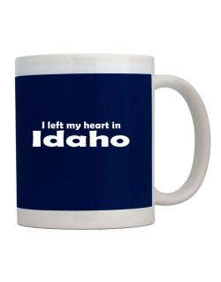 I Left My Heart In Idaho Mug