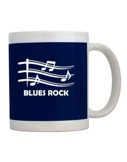Blues Rock - Musical Notes Mug