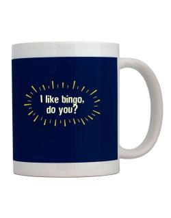 I Like Bingo, Do You? Mug