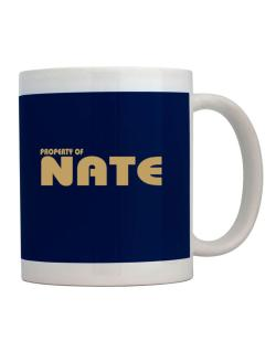 Property Of Nate Mug