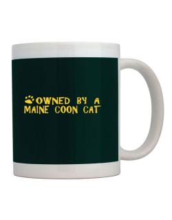 Owned By A Maine Coon Mug