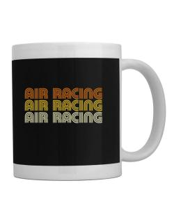 Air Racing Retro Color Mug