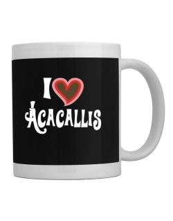 I Love Acacallis Mug