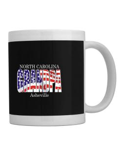 Grandpa Asheville - Us Flag Mug