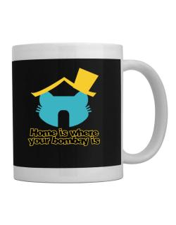 Home Is Where Bombay Is Mug