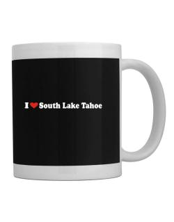 I Love South Lake Tahoe Mug