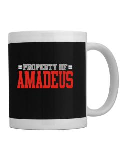 """ Property of Amadeus "" Mug"