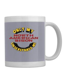 Only My North American Bison Understands Me Mug