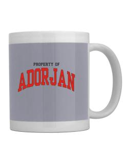 Property Of Adorjan Mug