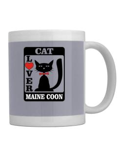 Cat Lover - Maine Coon Mug