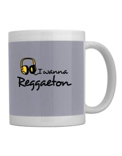 I Wanna Reggaeton - Headphones Mug