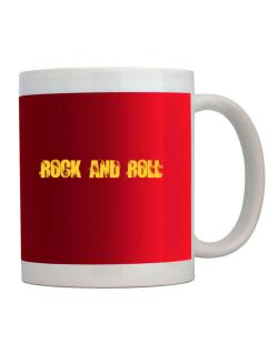 Rock And Roll - Simple Mug
