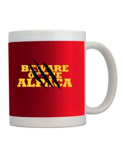 Beware Of The Alpaca Mug