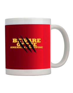 Beware Of The American Porcupine Mug