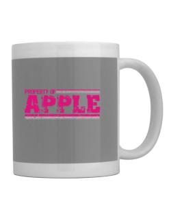 Property Of Apple - Vintage Mug