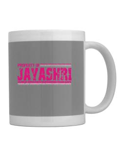 Property Of Jayashri - Vintage Mug