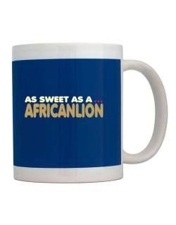 As Sweet As An African Lion Mug
