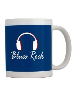 Blues Rock - Headphones Mug