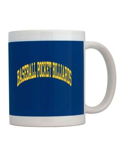 Baseball Pocket Billiards Athletic Dept Mug